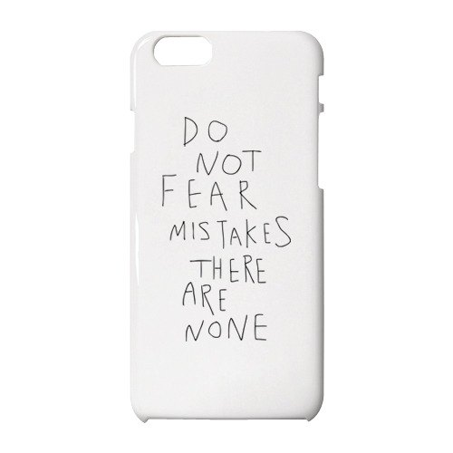 Do not fear mistakes. There are none. IPhone case