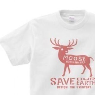 moose WM - WL • S - XL T - shirt 【Custom order】