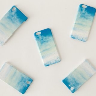 "Orders production] iPhone / Galaxy / Xperia Case ""blue, sky."""