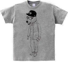 polar bear UOG (T-shirt 5.6oz gray)