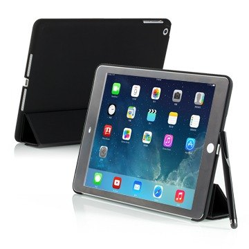 SIMPLE WEAR iPad Air Cover-Mate+ 专用硬壳保护套 - 消光黑  (4716779653519)