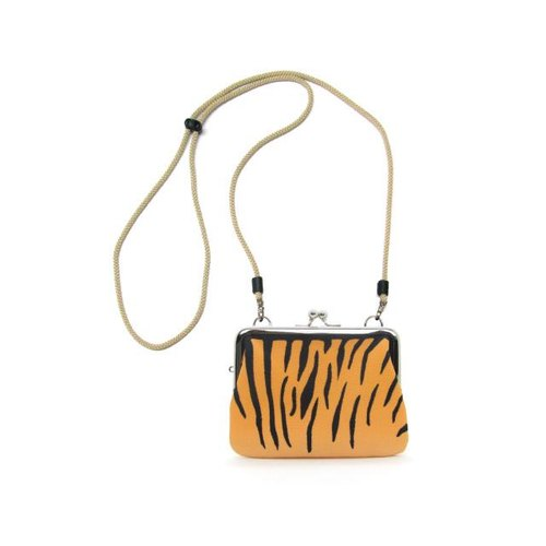 * Tiger * animal pattern 4 suns purse oblong square purse