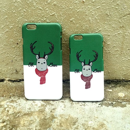 'Oh my Deer' phone case  Why Not Both 原创电话壳