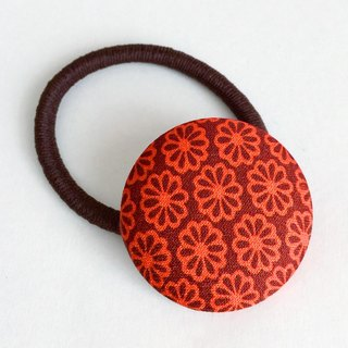 Hair elastic with Japanese Traditional Pattern, Kimono (Large)