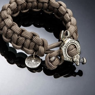 Nut Wrench Paracord Survival Bracelet | 螺帽板手求生手环(铜)