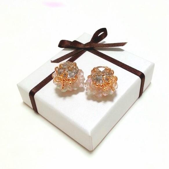Clear Petit size earrings (earrings)
