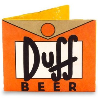 Mighty Wallet(R) 纸皮夹_ Simpsons Duff