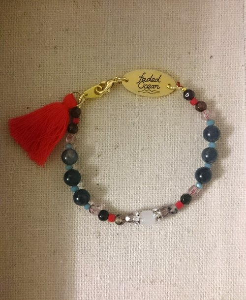 许愿手链-维珍妮 Virginie / Natural stone make a wish Bracelet