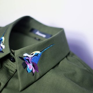 humming-绣花衬衫-Embroidered Shirts-HWS1305-02
