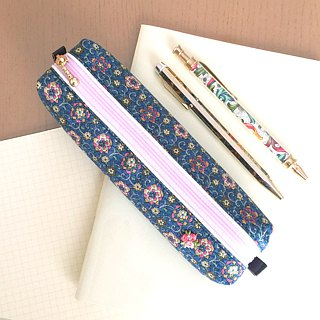 Pen Case with Japanese Traditional pattern, Kimono [Silk]