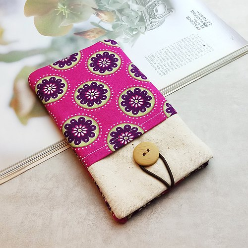 iPhone sleeve, Galaxy S4, S3, Galaxy Note 3, Note 2 pouch cover 自家制手提电话包, 手机布袋,布套 ,(可量身订制) - 美丽的图案(b) (P-76)