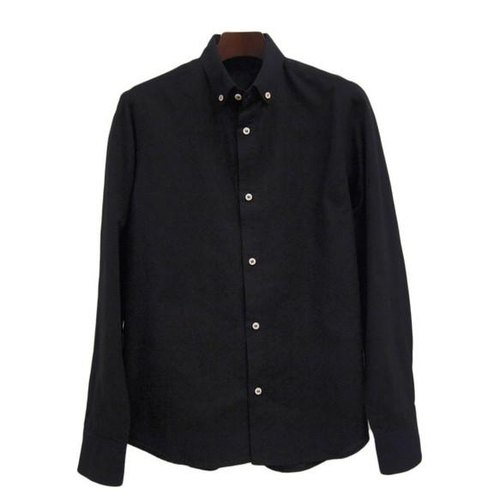 <Sサイズ> The black-dyed by Tsumugirabo by black-dyed shirt traditional craft Nagoya black crested dyed of Japan