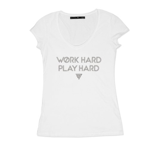 SEVEN CRASH|WORK HARD PLAY HARD T(修身女版)M