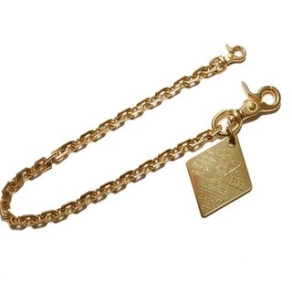 1%ER brass wallet chain - 1%ER黄铜皮夹链
