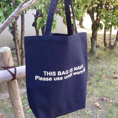 THIS BAG IS NAVY. Tote Bag