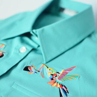 humming-绣花衬衫-Embroidered Shirts-HWS1307-01