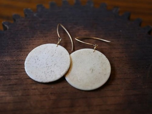 Antique Jefferies tons of circle earrings