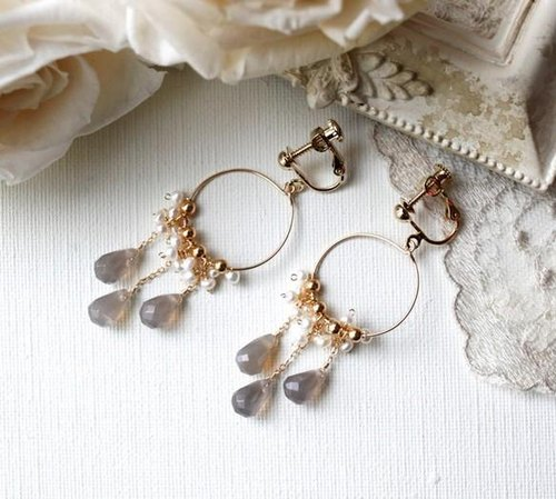 [New] earrings & earrings lampadario