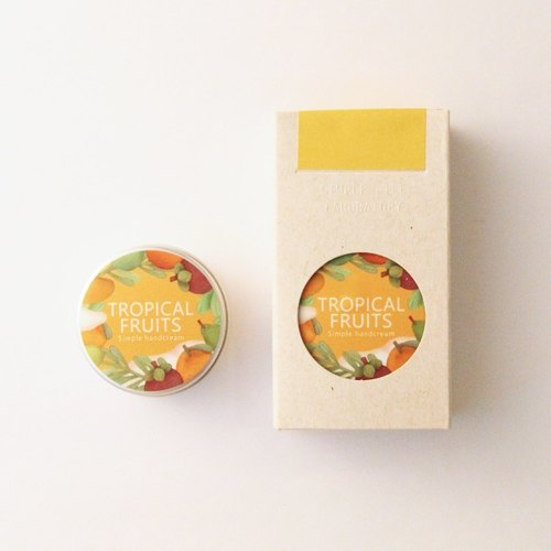 SLL Simple Handcream 护手霜 热带水果 Tropical Fruits