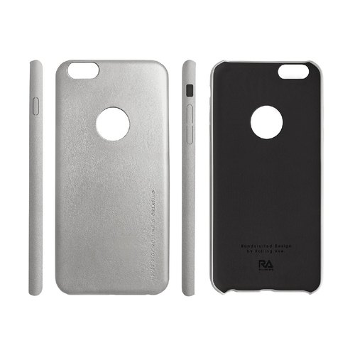 【Rolling Ave.】Ultra Slim iphone 6s plus / 6 plus 手感皮质护套-烁亮银
