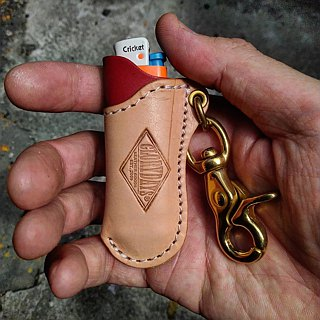 Leather Lighter Case - 皮革打火机套