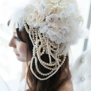 Baum Wedding Head Dress