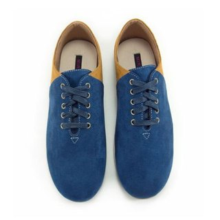 Two Tone Lace-up Shoes M1105A BlueLand