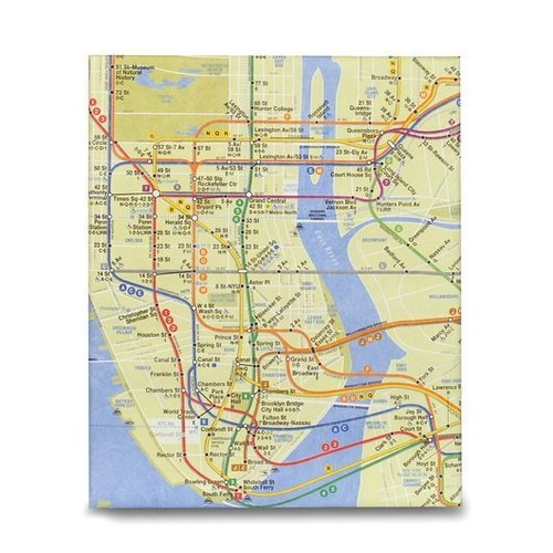Mighty™ Case TABLET iPad保护套 _ NYC Subway Map