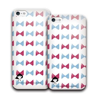 PIXOSTYLE iPhone 5/5S Style Case 女孩 297