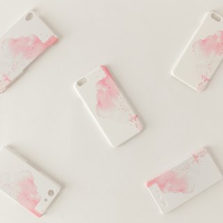 "Orders production] iPhone / Galaxy / Xperia Case ""red, cloud"""