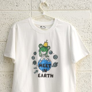 【情人节礼物】【Meet in earth】-情侣装/短袖T-shirt (大男孩)