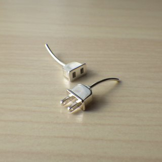 Plug and outlet earrings