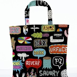 【URFACE】2nd Artist Series / P7 设计限量款Shopping Bag / 涂鸦