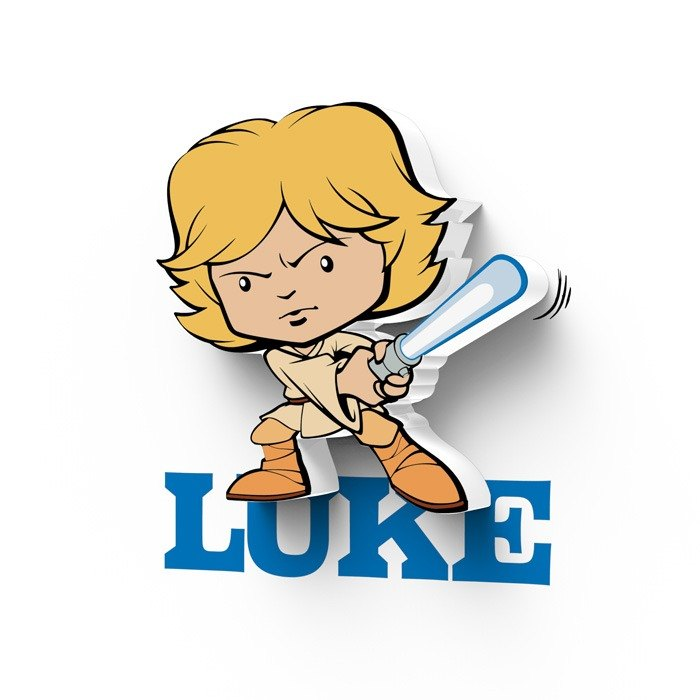 3D Light FX - Star Wars EP7 Mini Series Luke - 3D立体迷你灯 星际大战EP7系列 路克 天行者