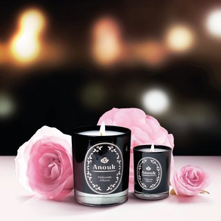 DELICATE ALLURE . 香薰蜡烛 Anouk Luxury Scented Soy Candle (210g)