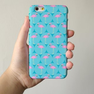 turquoise flamingo 91 - iPhone 手机壳, Samsung Galaxy 手机套 Samsung Galaxy Note 电话壳