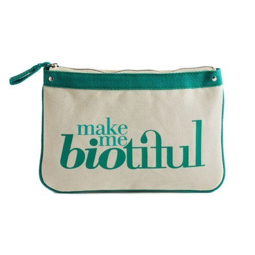 法国my biotiful bag有机棉Big Flat Pouch-Green