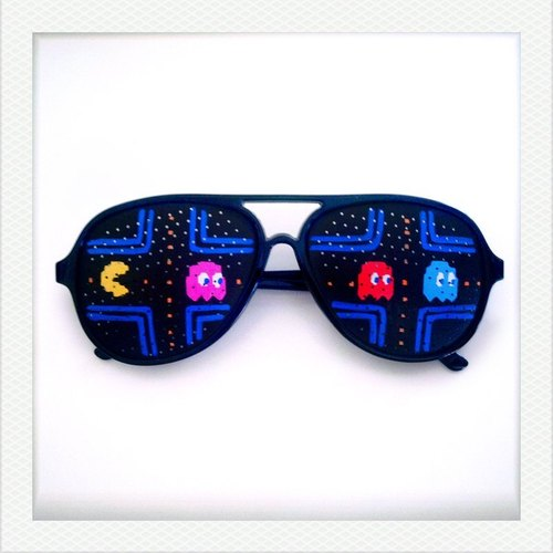 [iamkamty] Hand Drawn Shades (Pac-man)