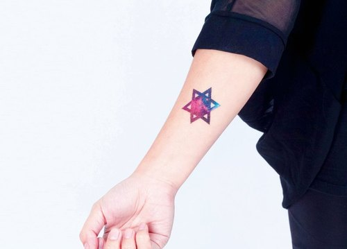 Surprise Tattoos / Cosmos starry sky 宇宙星空 刺青 纹身贴纸