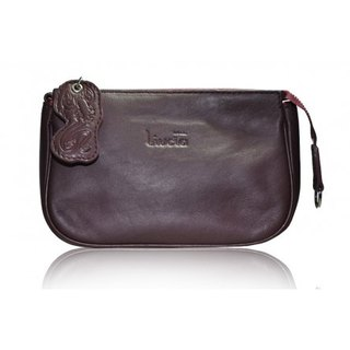 Lucy Oxblood Calf-Skin Leather Bag