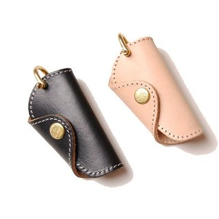 Leather Key Bag (Small) - 三折式钥匙包(小)