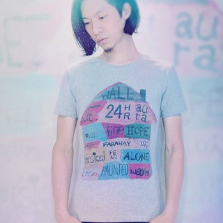 COME HOME#2 / T-Shirt (灰)