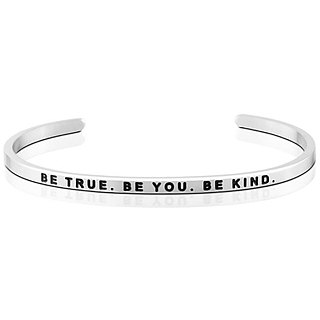 Mantraband - BE TRUE. BE YOU. BE KIND 真实, 自我 , 和善