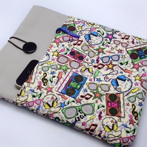 "11"", 13"" Macbook Air case, 13"" Macbook Pro case, Laptop case,Computer case 电脑袋,布套 ,布包 - 眼镜 (90)"