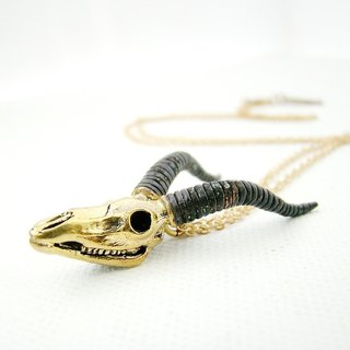 Zodiac pendant Goat-horned (The Sea-Goat)is for Capricorn