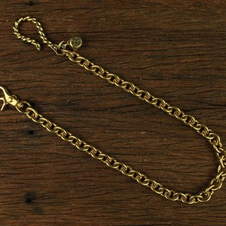 Metal Rope Hook With Brass Dice Wallet Chain 麻花大勾骰子腰链