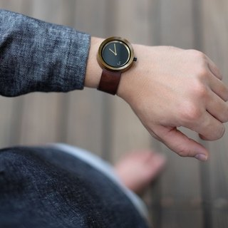 Lima Watch Sore Teak Brown