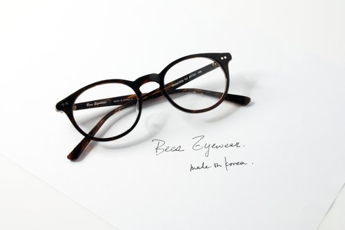 韩国手造 梨型板材幼细镜框 Handmade in Korea Boston Shape eyeglasses frame eyewear A02C2