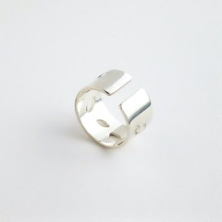 [Order production] ring / 950 silver petal design
