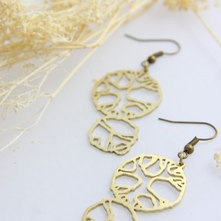 Garden Plan Earrings - Handcraft Jewelry